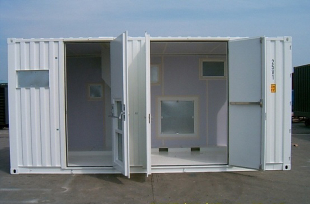 Open Sided 20 Foot Containers Jpsil High Quality
